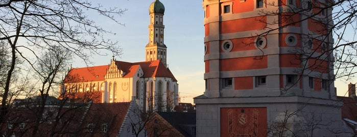 Rotes Tor Augsburg (a Green Island) is one of Augsburg.