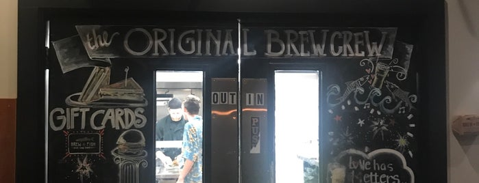Brew Fish Bar & Eatery is one of South Coast.