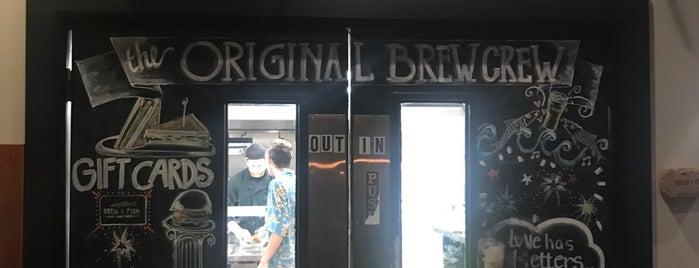 Brew Fish Bar & Eatery is one of Greg: сохраненные места.