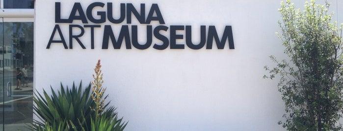 Laguna Art Museum is one of Bank of America Free Museum Weekend.