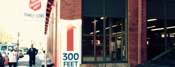 The Salvation Army Family Store & Donation Center is one of RI to-do.
