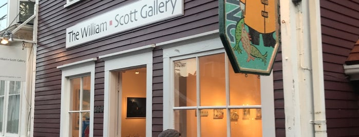 The William-Scott Gallery is one of Provincetown Favorites.