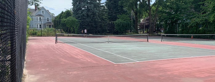 Southwest Corridor Tennis Courts at Stony Brook is one of Recreation.