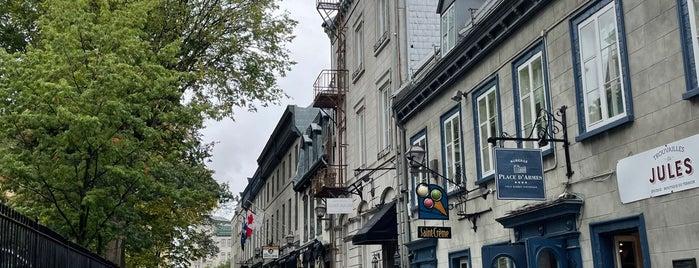 Quartier Vieux-Québec – Cap-Blanc – Colline-Parlementaire is one of 퀘백.