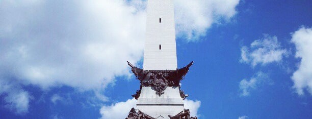 Soldiers & Sailors Monument is one of Locais salvos de Paul.