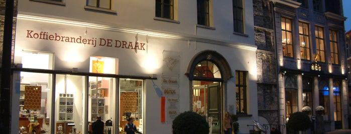 Koffiebranderij De Draak is one of Posti che sono piaciuti a Jo.