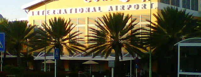 Curaçao International Airport (CUR) is one of Part 1~International Airports....