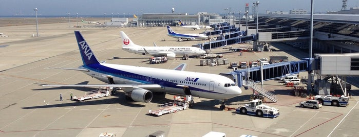 Chubu Centrair International Airport (NGO) is one of Lugares favoritos de Rusen.