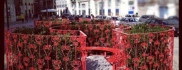 Largo do Intendente is one of Lisbon flash-trip.