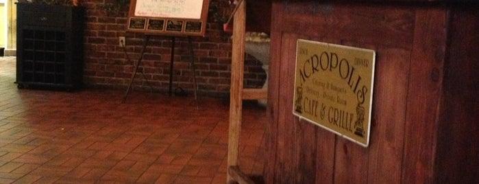 Acropolis Café & Grille is one of Emily : понравившиеся места.
