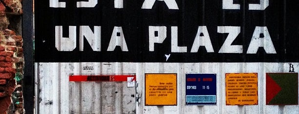 Esta es una plaza is one of Lugares favoritos de Mascavalli.