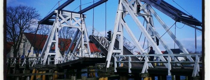 Klappbrücke Wieck is one of Oostzeekust 🇩🇪.