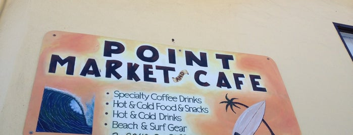 Point Market & Cafe is one of HWY1: Santa Cruz to Monterey/Carmel.