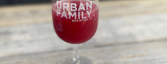 Urban Family Brewing Co. is one of Lugares favoritos de Cusp25.