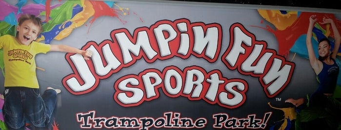 Jumpin Fun Sports is one of Orte, die Jack gefallen.