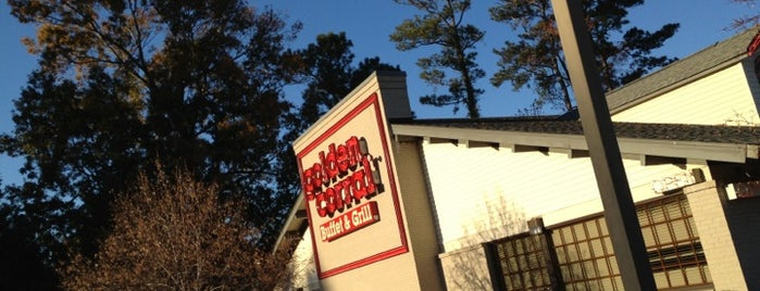 Golden Corral is one of Eateries.