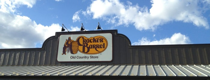 Cracker Barrel Old Country Store is one of Favorite Eating Spots.