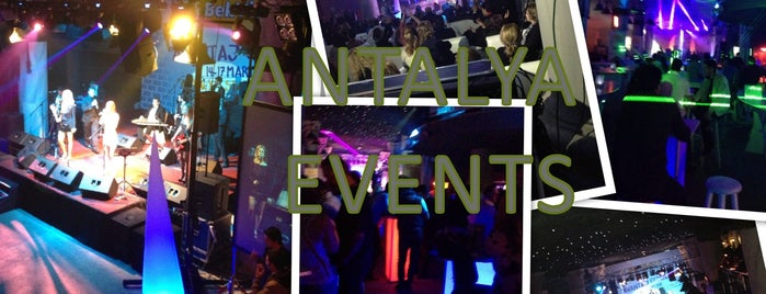 ANTALYA EVENTS - Event&Destination Management Company is one of Canerさんのお気に入りスポット.