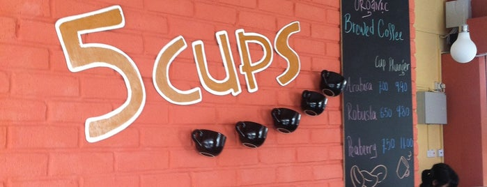 Coffee 5 Cups is one of Kopi Places.