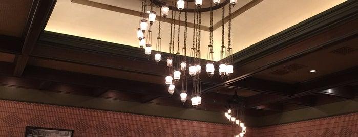 The Explorer's Club Restaurant is one of Hk Disney.