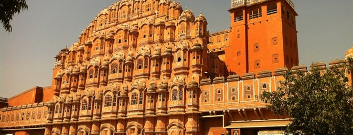 Hawa Mahal |  हवा महल is one of The Amazing Race 01 map.
