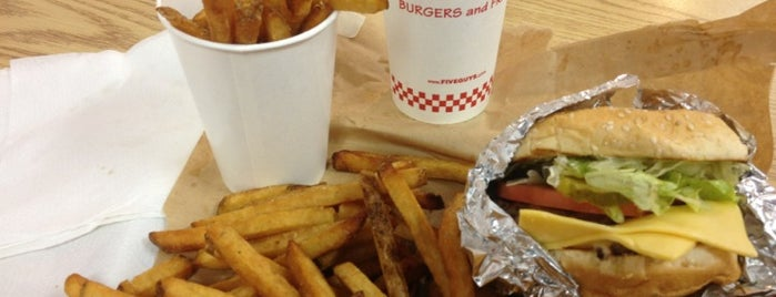 Five Guys is one of My Food.