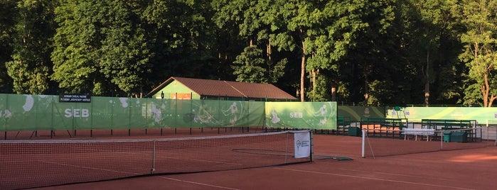 Sereikiškių teniso kortai is one of สถานที่ที่ Julija ถูกใจ.