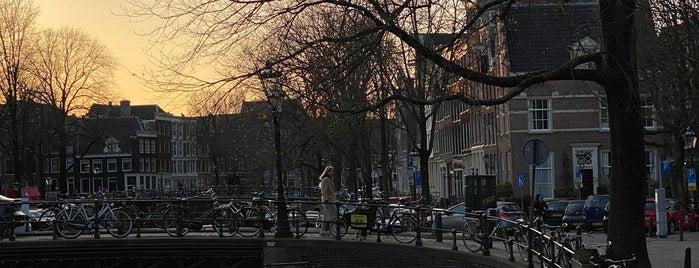 Melkmeisjesbrug (Brug 16) is one of Amsterdam.