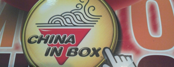 China in Box is one of Tempat yang Disukai Rodrigo.