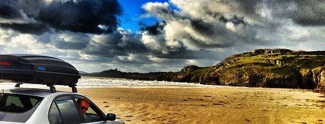 Beaches Near to Trawsfynydd Holiday Village