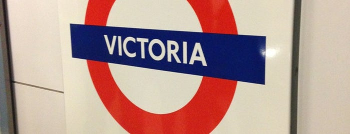 Victoria London Underground Station is one of UK & Ireland.