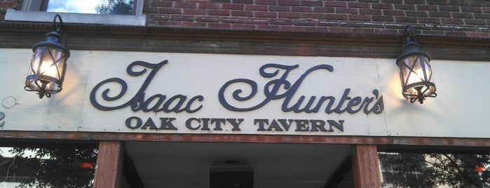 Isaac Hunter's Oak City Tavern is one of Favorites.