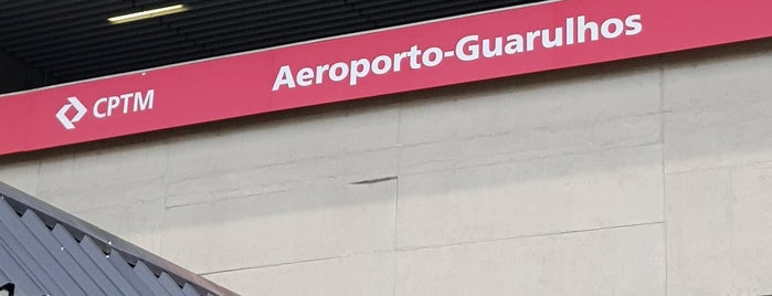Estação Aeroporto-Guarulhos (CPTM) is one of Camilaさんのお気に入りスポット.