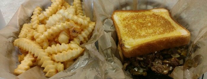 Hwy 55 Burgers Shakes & Fries is one of J'ın Beğendiği Mekanlar.