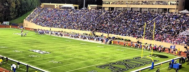 Brooks Field at Wallace Wade Stadium is one of dos....