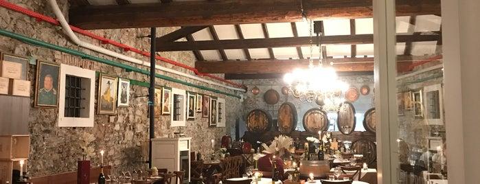Osteria Della Ribolla is one of I miei luoghi.