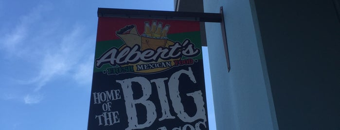 Albert's Fresh Mexican Food is one of San Diego.