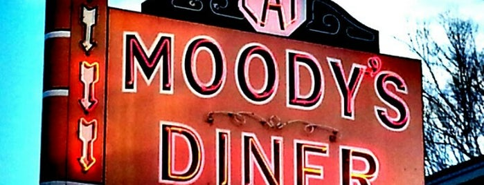 Moody's Diner is one of North of Portland ME.
