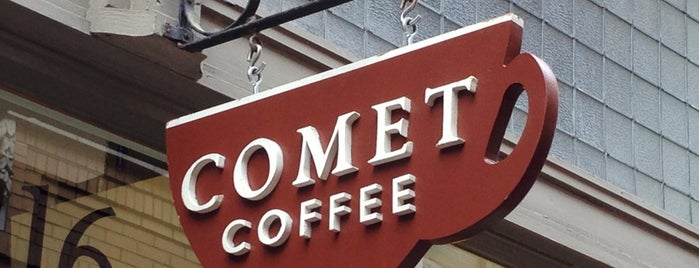 Comet Coffee is one of Dara's Ann Arbor Favorites.