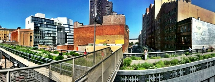 High Line is one of Manhattan!.