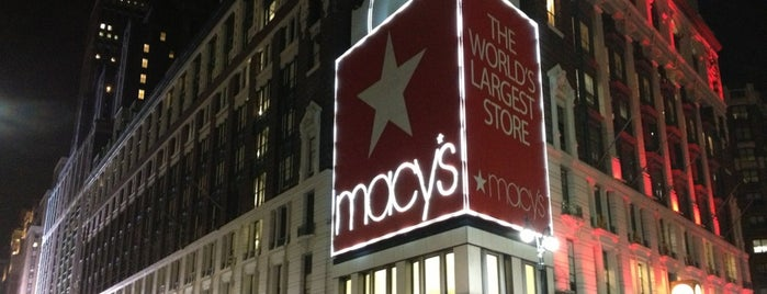 Macy's is one of NEW YORK CITY : Manhattan in 10 days! #NYC enjoy.