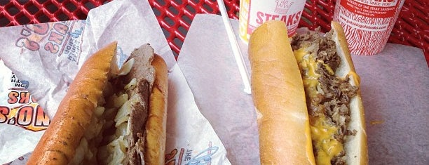 Pat's King of Steaks is one of Most Popular on TVFoodMaps.com.