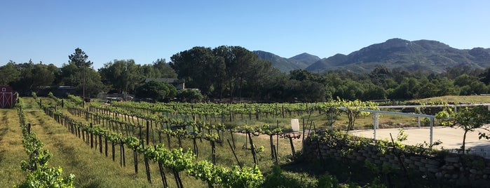 Schwaesdall Winery & Tasting Room is one of San Diego Wine Country.