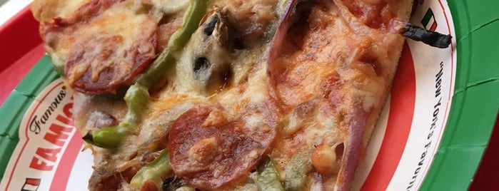 Famous Famiglia Pizza is one of Nyc.