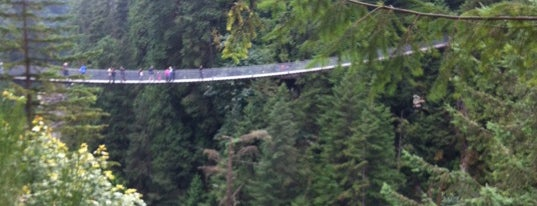 Capilano Suspension Bridge is one of Gez Gor.