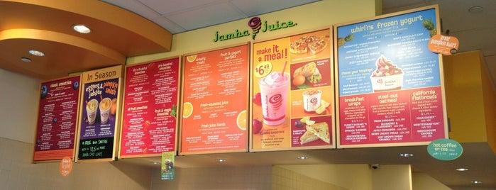 Jamba Juice is one of Esther 님이 좋아한 장소.
