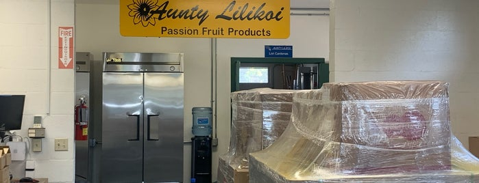 Aunty Lilikoi Passion Fruit Products is one of KAUAI 16.