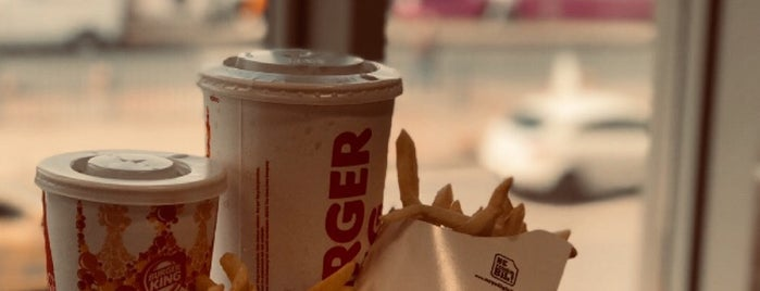 Burger King is one of Lugares favoritos de Seyit.