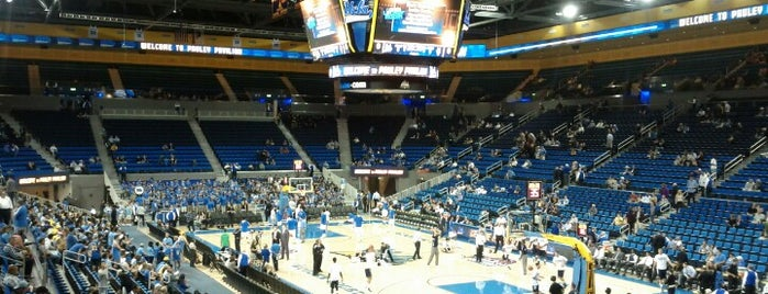 UCLA Pauley Pavilion is one of dos....