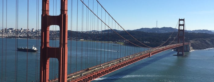 Golden Gate Bridge is one of san fo.